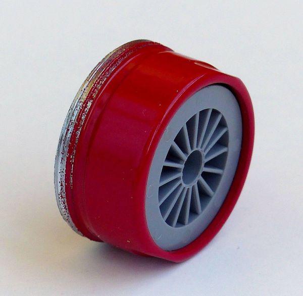 Rote Mischdüse M 24 Außengewinde Niederdruck