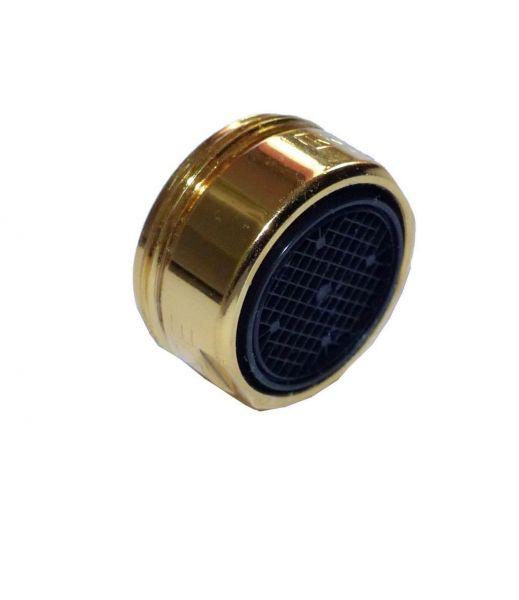 gold-farbige Mischdüse M 24 Außengewinde Hochdruck