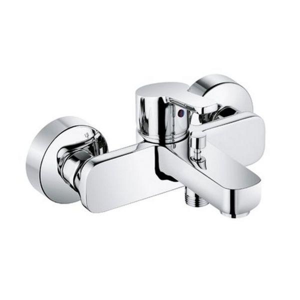 Kludi Einhebel Badewannenarmatur Wannen-Armatur Batterie ZENTA 386700575
