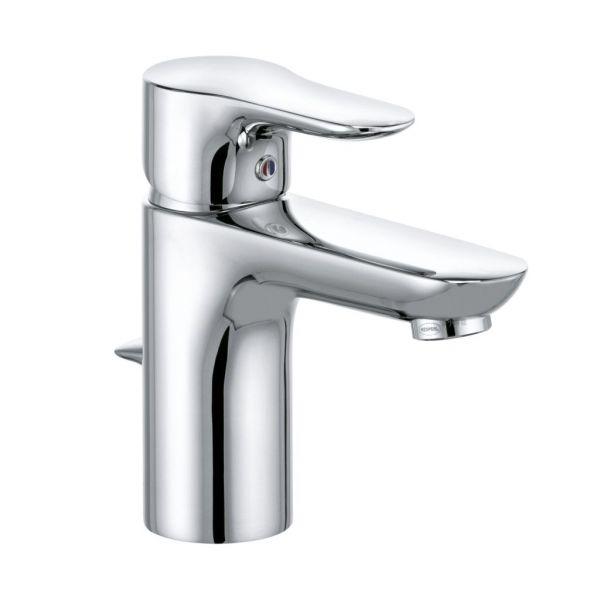 Kludi Waschbecken-Armatur-Einhebelmischer Objekta 322330575 chrom mit Ablaufg.py
