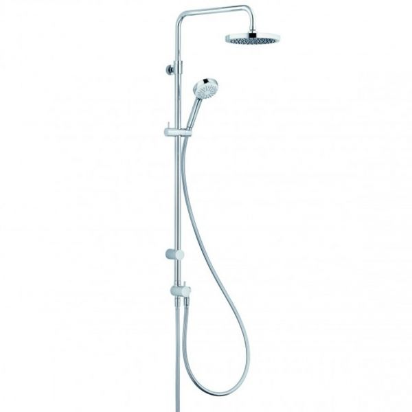 Kludi Dual Shower System für Wandmontage, verchromt, LOGO 1S 6809305-00
