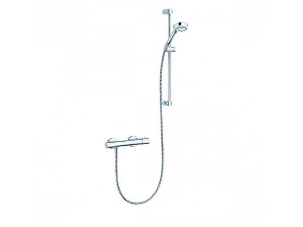 Kludi LOGO Brause Set 6857605-00 3S SHOWER-DUO 60 cm chrom mit Thermostat