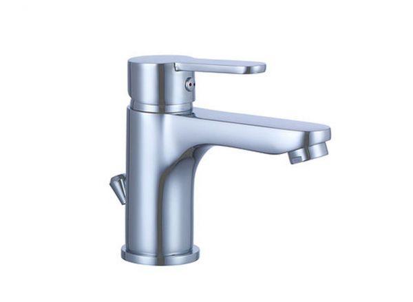 Waschtischarmatur Waschbecken Bad Armatur Wasserhahn chrom MADRID