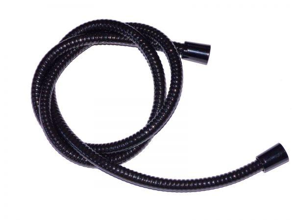 Brauseschlauch Duschlauch 1,25 m schwarz