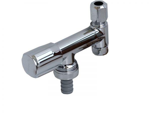 Geräteanschlussventil Ventil 3/8 Zoll x 10 mm an Eckventil Schell COMFORT