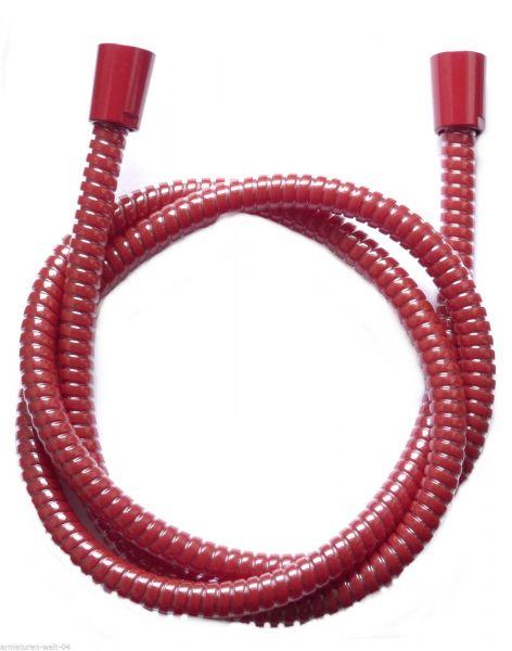 Brauseschlauch Duschschlauch 1,25 m rot