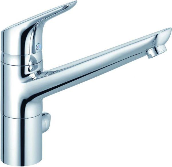 Kludi Einhebel Küchenarmatur m.Geräteanschluss Objekta Chrom 325770575 Niederdruck-