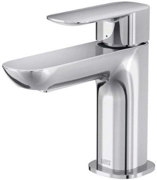 Kaltwasserhahn Gäste WC Armatur mit Anschlussschlauch LENZ 43600502 Tiana chrom
