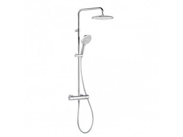 Kludi D-TAIL Thermostat Dual Shower System DN 15, 6709205-00