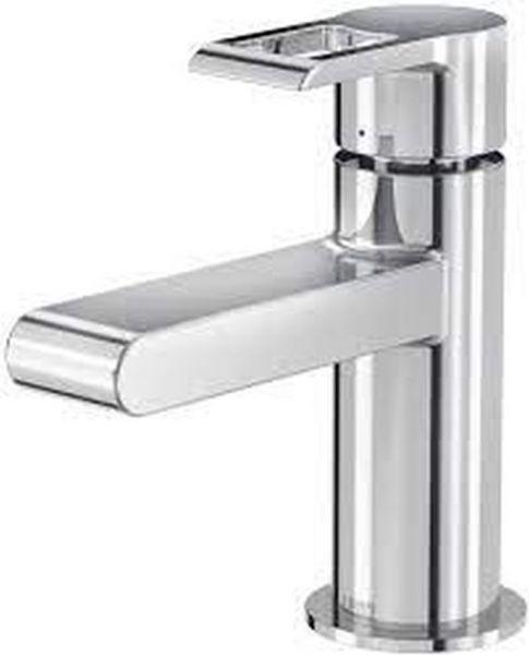 Kaltwasserhahn Gäste WC Armatur mit Anschlussschlauch LENZ 41700502 chrom Marine