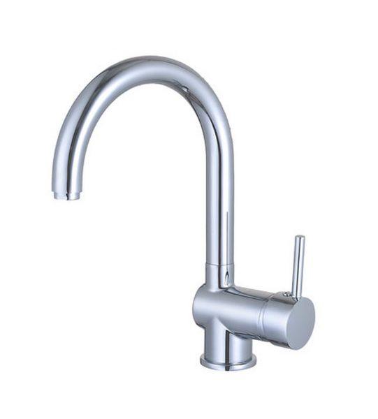 Einhebel Küchenarmatur Spüle Wasserhahn chrom HOCHDRUCK PRAG
