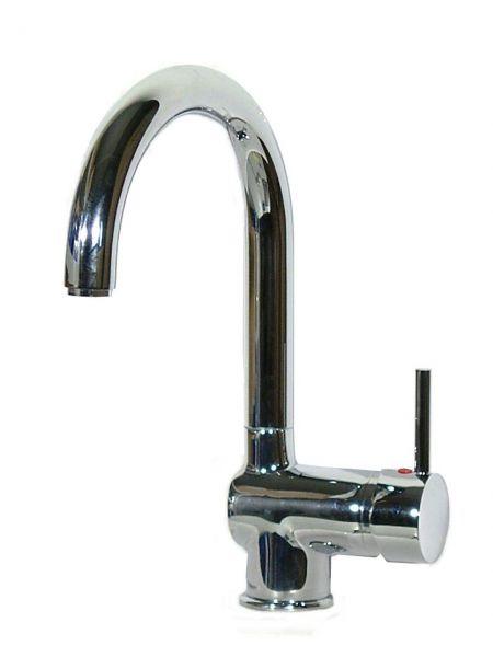 Einhebel Küchenarmatur Spüle Wasserhahn chrom NIEDERDRUCK FUTURA C